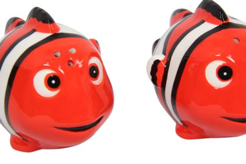 Salt and Pepper Shakers Dory and Clownfish