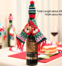 Wine Bottle Scarves & Socks