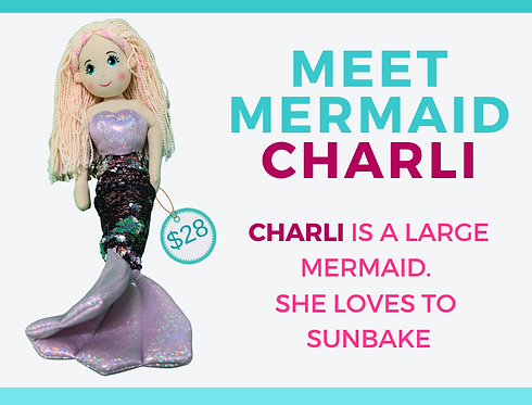 Shimmering Mermaid   CHARLI
