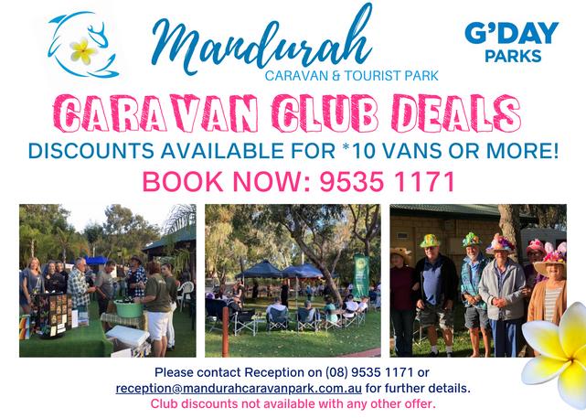 Caravan Club Deals