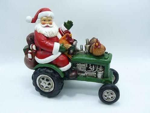 Santa Tractor