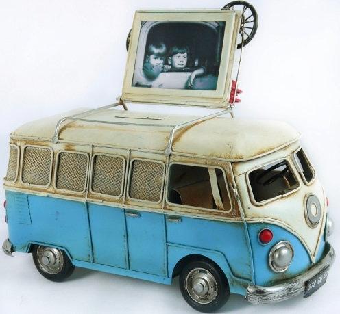 Vintage VW Kombi Money Box Medium