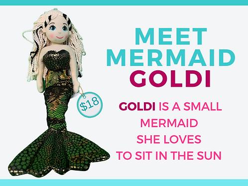 Shimmering Mermaid  GOLDI