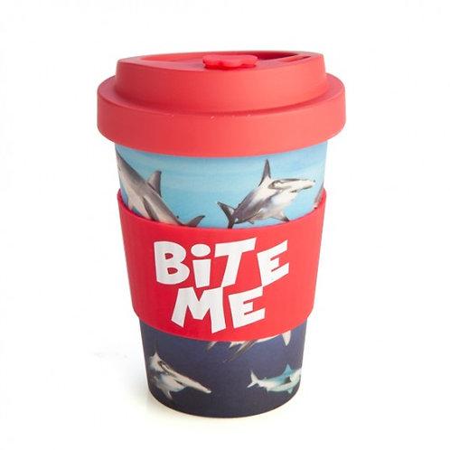 Bite Me Coffee Cup