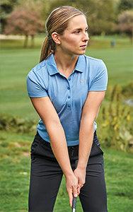 Nike Ladies Precision Heather Polo