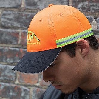 Polycotton / Polyester Reflective Safety Hat