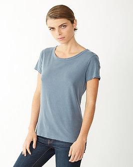 Ladies Cotton Vintage Fashion T-Shirt
