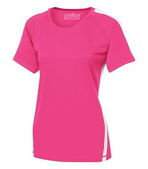 Ladies 2 Color Performance Tee