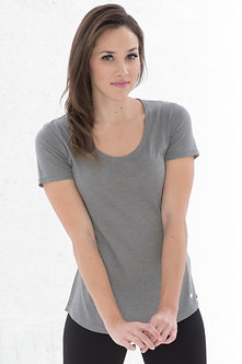 Triblend Scoop neck Relaxed Ladies T-shirt
