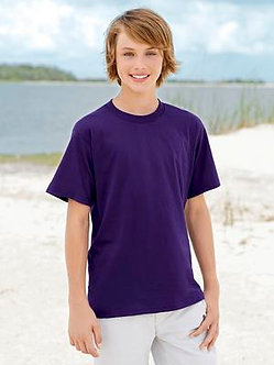 Youth Fruit of the Loom Cotton Tee