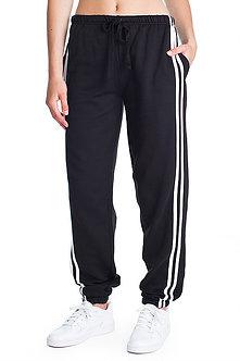 Ladies Pant with Stripes