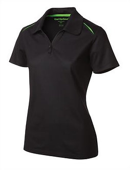 Ladies Snag Resistant Contrast Stitch Sport Shirt