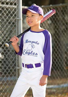 Youth Performance Baseball Tee