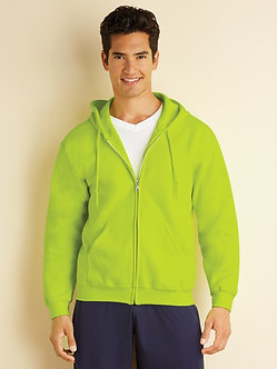 Gildan Full Zip Cotton/Polyester Sweater