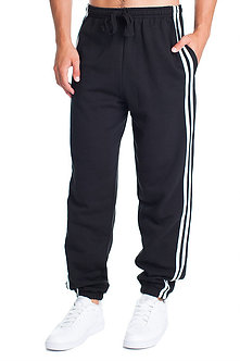 Men's Midweight Pants with Cuff Bottom