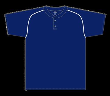 2 Button Baseball Jersey BA1344