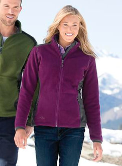 Ladies Sherpa Fleece Full Zip Jacket