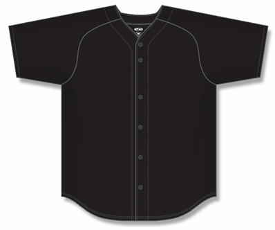 Full Button up Baseball Jersey BA5200