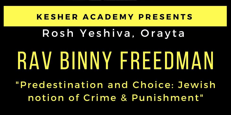 Rav Binny Freedman