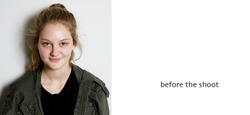 Before & after shots by Alise Black