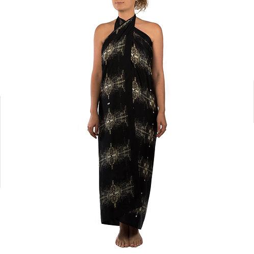 Silk Wrap | NYC Black & Gold | Limited Edition Print