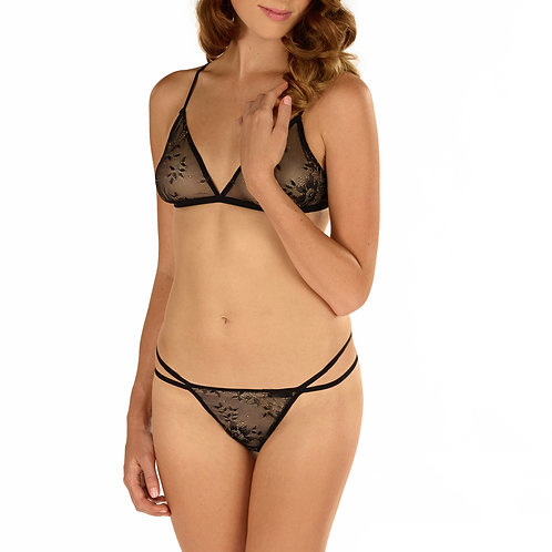 Vicenza Soft Bra and G-String