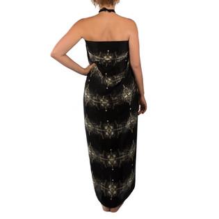 Boutique Black Silk Scarf Wrap