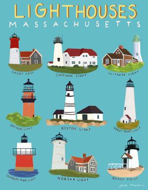 MA Lighthouses