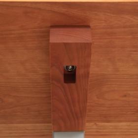 Floating Wood Desk Top
