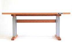 Adjustable height Desk, Cherry desk
