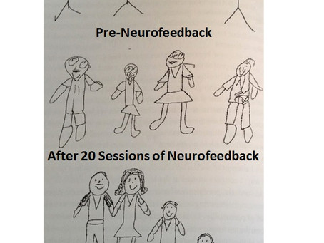 Changes in Drawing Potential within 4 months of Neurofeedback!