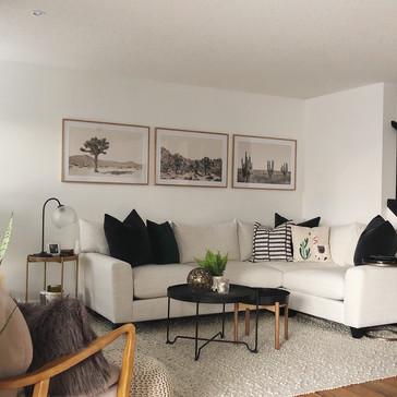 Interior decor selections