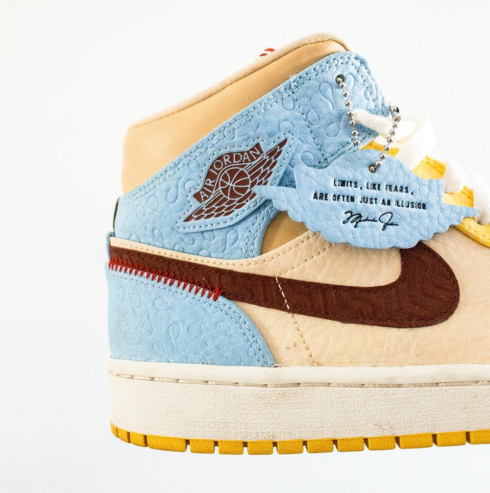 Air Jordan sneakers street culture