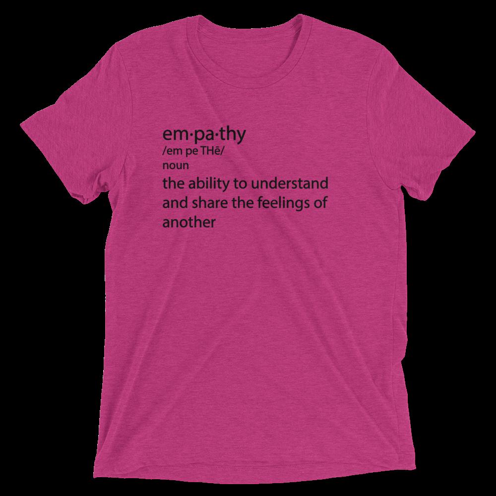 Empathy_unisex_truth2tshirt_t-shirt