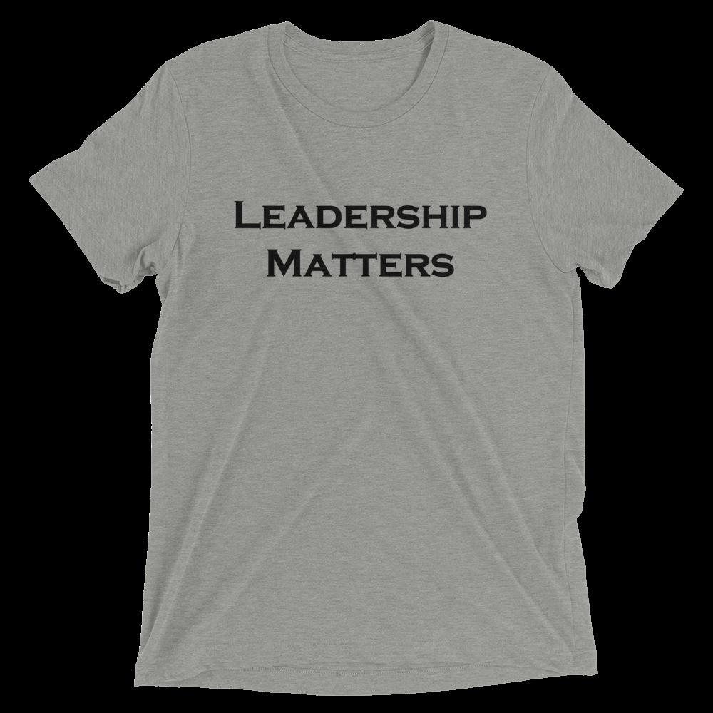 Leadership_matters_truth2tshirt_t-shirt.