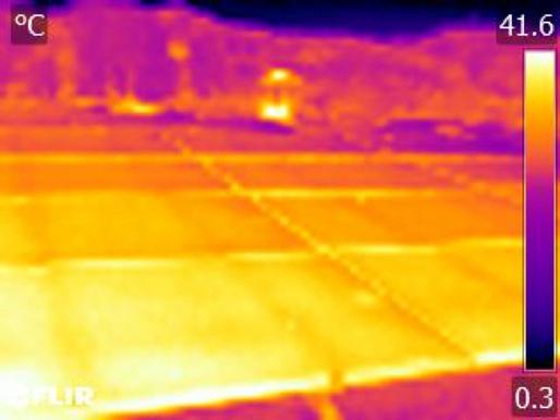 熱像儀不同解析度的成像比較