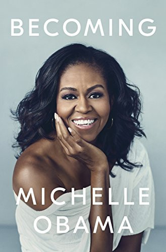 Book cover of Becoming by Michelle Obama