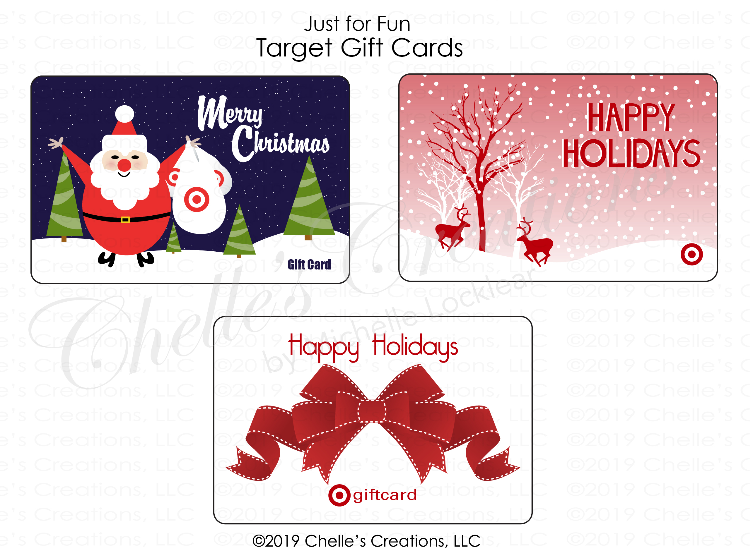 Gift Cards-Holidays
