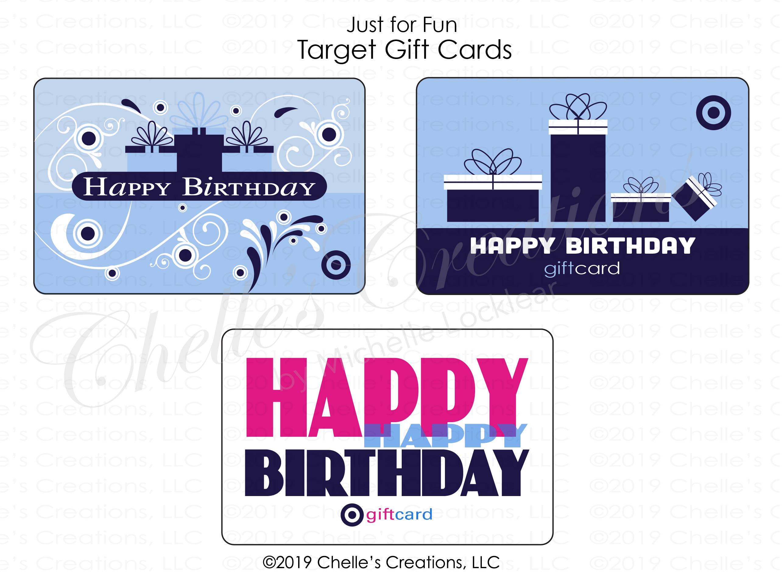 Gift Cards-Birthday