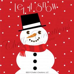 Let It Snow Illustration