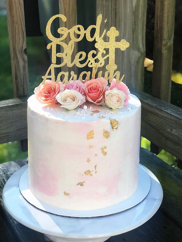 baptism cake!!