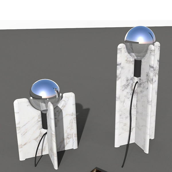 190711_Tafel lamp 37 + 125_26-45 h_marbl