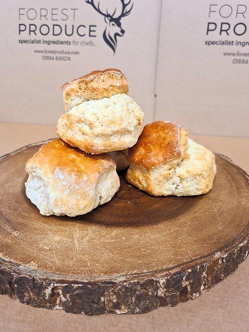 Proper Devon Scones x 4 Bake from frozen in 8-10 mins.