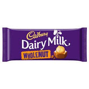 Cadbury's Wholenut 120g
