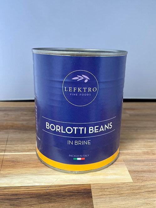 Borlotti Beans 800g-Tinned