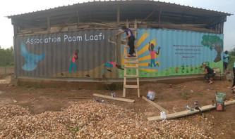 Brightening School Walls
