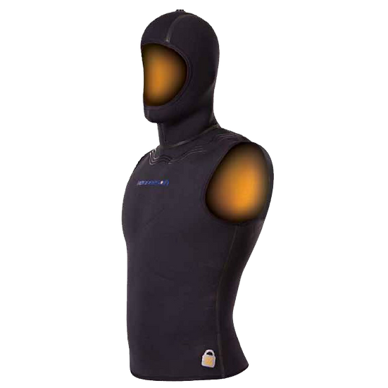 HENDERSON AQUA LOCK HOOD VEST MEN/WOMEN