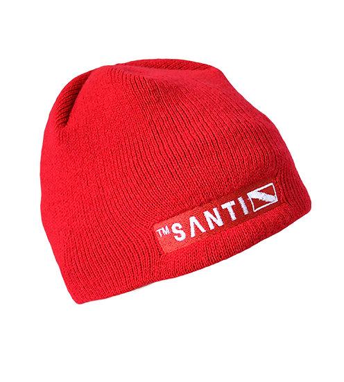 BEANIE HAT RED
