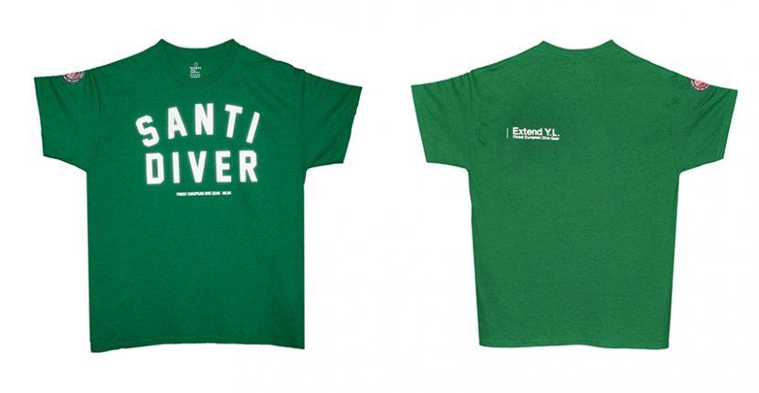 SANTI Santi Diver green