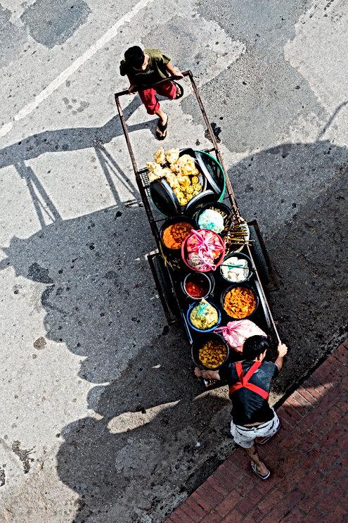 photographie, photo, Laos, voyage, couleurs, marché, topview,
